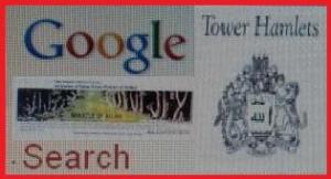 Google Search Engine Image Featured name of Allah the only websites appeared?