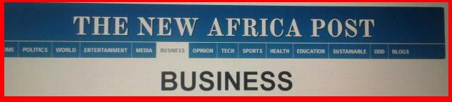 New Africa Post-Featured Articles.