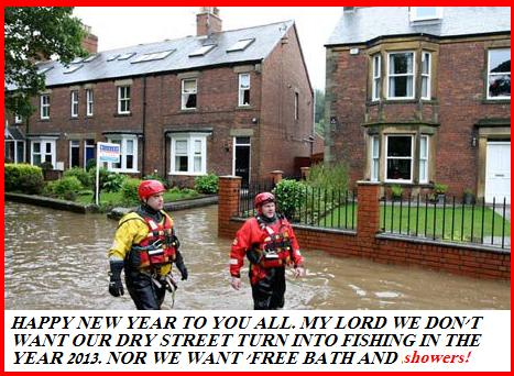 Happy New Year to You All. Her Bitannic Majesty's' Invites you to start 'Fishing' in our dry street?