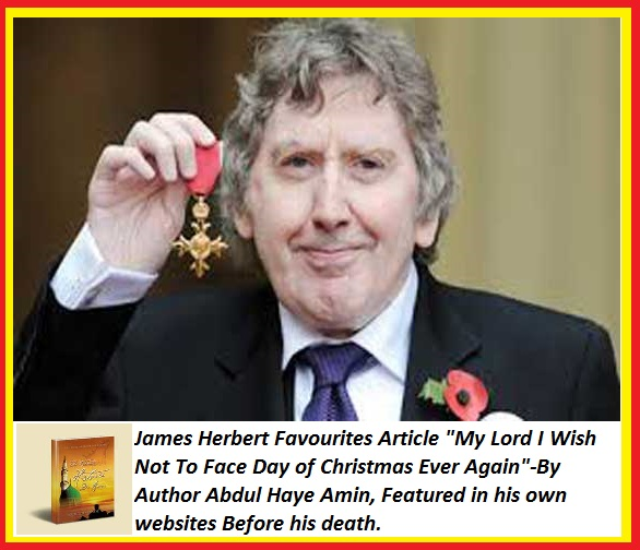 Herbert Like author Abdul Haye Amin Articles smiles with OBE?